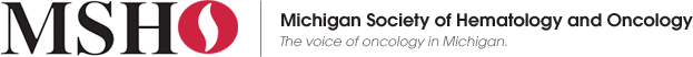 Michigan Society of Hematology and Oncology. Click logo for home page.
