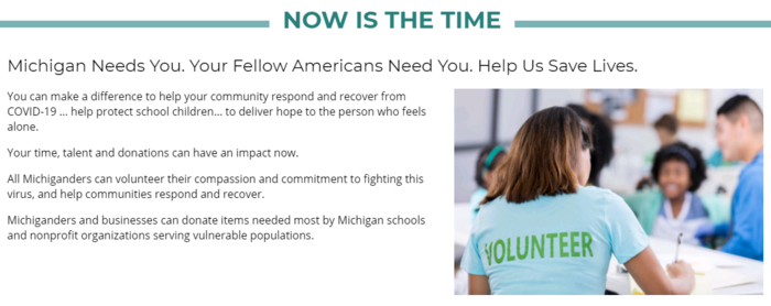 Volunteer Image Front Page